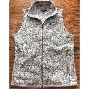 Patagonia Gray Better Sweater Vest